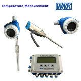 De industriële Zender van de Temperatuur Intergral met 316L thermowell-Efficiënte Zelf diagnostiseert Zender