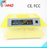 FCC complètement automatique professionnelle d'incubateur d'oeufs de la CE d'oeufs de Hhd 48 la mini a reconnu