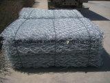 Galvanisierter Kasten-China-Hersteller-Maschendraht Belüftung-überzogener Gabion