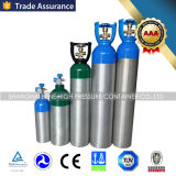 Beweglicher medizinischer Sauerstoffbehälter mit Ventil und Griff