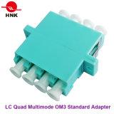LC Optische Adapter van de Vezel van de vierling de Standaard Plastic