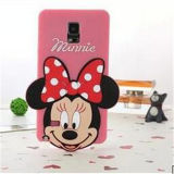 Fabrication 3D Cute Cartoon Silicon Cellphone Cover pour iPhone 6 6p