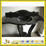 Opgepoetste Zwarte Countertop van het Graniet Shanxi voor Hotel (yqg-GS1009)