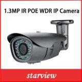 1.3MP câmara de segurança impermeável do CCTV da bala do IP WDR IR (WA8)
