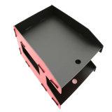 Cremagliera da tavolino di plastica di Filetray /Display della fila di standard 3