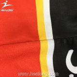 Pullover uniforme del hokey del taglio del portiere di Healong con