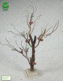 piante verdi artificiali del PE di 0.6-0.8m per la decorazione - legno Rect delle filiali