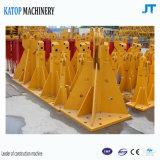 Guindaste de torre interno popular Ásia do rastejamento da exportação Tc5516 para a maquinaria de construção