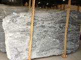 Losa gris de piedra natural Polished del granito para el suelo y la pared