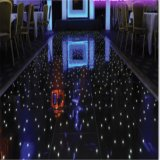 azulejo iluminado de la danza del suelo de baile de los 2X2FT que centellea LED