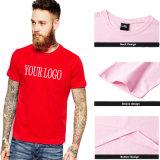 Commerce de gros personnalisé de haute qualité 100% coton à manches courtes Tee Shirt plaine d'impression Mens Tshirt avec Private Label
