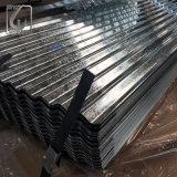 Feuille ondulée galvanisée de toiture de zingage de JIS G3321 pour la construction