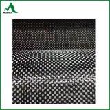 tela de la fibra del carbón de la armadura llana de 12K 420g