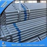 Tubo de acero galvanizado BS1387 del andamio
