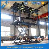 Домашняя гидравлический подъемный стол ножничного типа автомобиля платформу для продажи