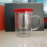 Tazza di tè di vetro della tazza della tazza del regalo del regalo variopinto della tazza con Infuser
