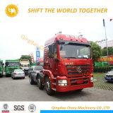 Shacman 6X4 50 тонн погрузчика трактора прицепа