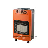 Calentador plegable de sitio con la hornilla infrarroja de cerámica