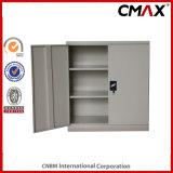 Стальной кухонный шкаф Cmax-FC02-007 металла хранения двойной двери шкафа