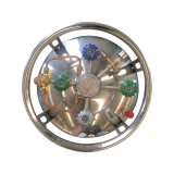 Isolados criogénicos vertical do cilindro de nitrogênio líquido 210L-1.37MPa
