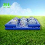 ドイツTizipが付いているフットボールカラーPVC/TPU人間の膨脹可能な水歩く球