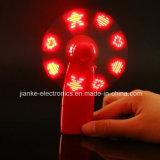 Mini éclairage LED tenu dans la main vers le haut de ventilateur pour les cadeaux de promotion (3509)