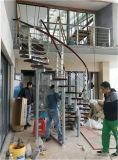 Escada rotativa moderna de 360 ° de moda