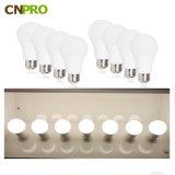 A19 5W E27 Luz da lâmpada LED com marcação CE Certificação RoHS