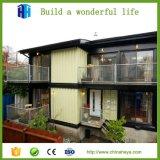 低価格は米国式の小さい別荘の家デザインを組立て式に作った