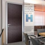 Porte en bois moderne de bureau de conception