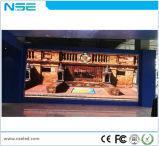 Pared video publicitaria de interior de alta resolución de P2.5 LED TV