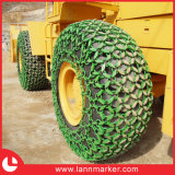 Cadena de protección de neumáticos, cadena Cargador de ruedas Protección de Neumáticos