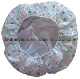 PVC Towel Shower Cap in un Individual Package