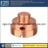 Fazer à máquina do CNC do conetor do aço inoxidável do OEM
