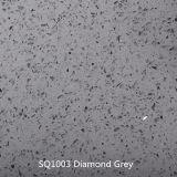 Diamond Laje de Pedra de quartzo cinzento/Cinza Lajes quartzito/ China quartzito cinza