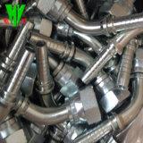 Los racores de compresión hidráulica Venta caliente hembra giratorio de conexiones de mangueras hidráulicas BSP
