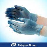 Перчатки винила устранимого порошка свободно для еды промышленной