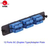 144 Cores 4u Rack Mount Fiber Optic Patch Panel