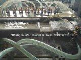 Linha de produção plástica maquinaria do painel de parede do PVC