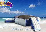 Большой надувной батут для аквапарка