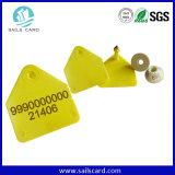 134.2kHz etiqueta animal modificada para requisitos particulares ISO11784 de la identificación de la insignia RFID