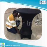 둥근 Table, 110cm Height Bar Stool를 가진 Bar Table