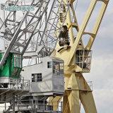 Grue marine de paquet de piédestal portatif de grue de bateau
