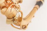 Хороший тенор-саксофон/ Gold лаком /производитель музыкальный инструмент