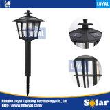 忠節なニンポーよいプラスチック黒い中国の太陽芝生ライト
