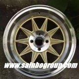 Mercado de acessórios F555902 rodas do alumínio de 15 polegadas; Bordas da roda da liga do carro