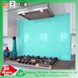 Le verre trempé de haute qualité de la Chine Fabricant de verre peint de couleur refoulement