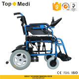 [توبمدي] أعجز خارجيّ ألومنيوم [فولدبل] [إلكتريك بوور] كرسيّ ذو عجلات