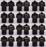 Abitudine nera in bianco del pullover di football americano dell'oro di Atlanta Matt Ryan Julio Jones Desmond Trufant Devonta Freeman dei bambini dei capretti delle donne del Mens qualsiasi nome qualsiasi numeri