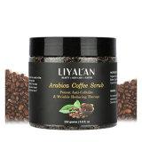 Arabica de Koffie schrobt Lichaam schrobt en Gezichts schrob voor Diepe het Reinigen Afschilfering en het Elimineren van Teken
